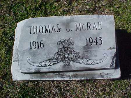 MCRAE, THOMAS - Cross County, Arkansas | THOMAS MCRAE - Arkansas Gravestone Photos