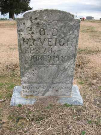 MCVEIGH, O D - Cross County, Arkansas | O D MCVEIGH - Arkansas Gravestone Photos