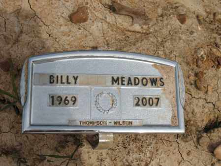 MEADOWS, BILLY - Cross County, Arkansas | BILLY MEADOWS - Arkansas Gravestone Photos
