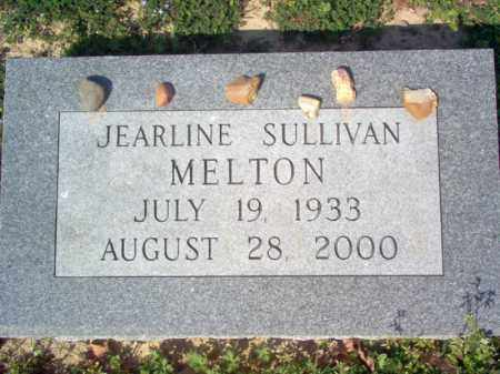 MELTON, JEARLINE - Cross County, Arkansas | JEARLINE MELTON - Arkansas Gravestone Photos