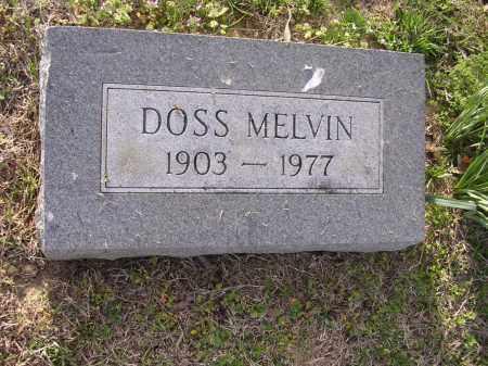 MELVIN, DOSS - Cross County, Arkansas | DOSS MELVIN - Arkansas Gravestone Photos