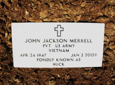 "MERRELL (VETERAN VIET), JOHN JACKSON ""BUCK"" - Cross County, Arkansas 
