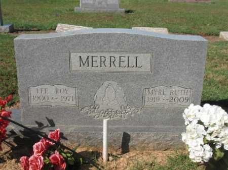 MERRELL, LEE ROY - Cross County, Arkansas | LEE ROY MERRELL - Arkansas Gravestone Photos