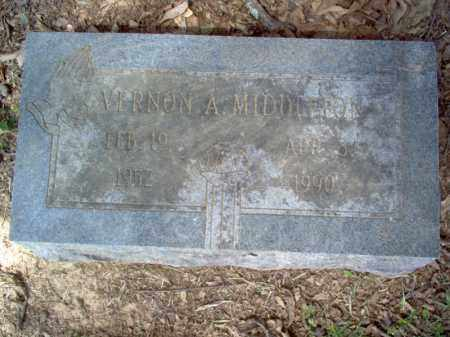 MIDDLETON, VERNON A - Cross County, Arkansas | VERNON A MIDDLETON - Arkansas Gravestone Photos