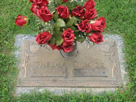MIZE, THELMA G - Cross County, Arkansas | THELMA G MIZE - Arkansas Gravestone Photos