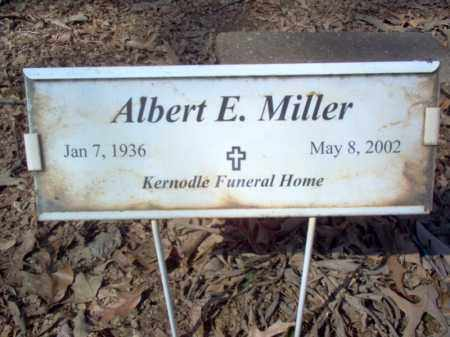 MILLER, ALBERT E - Cross County, Arkansas | ALBERT E MILLER - Arkansas Gravestone Photos