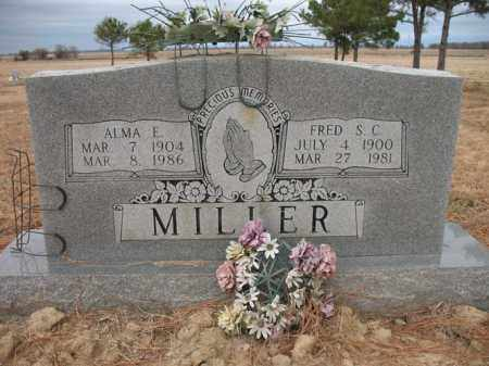 MILLER, FRED S C - Cross County, Arkansas | FRED S C MILLER - Arkansas Gravestone Photos