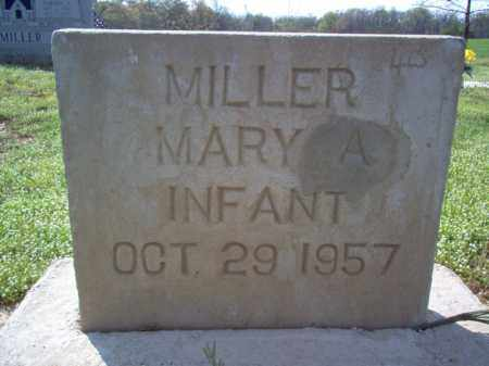 MILLER, MARY A - Cross County, Arkansas | MARY A MILLER - Arkansas Gravestone Photos