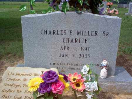 "MILLER, SR., CHARLES E ""CHARLIE"" - Cross County, Arkansas | CHARLES E ""CHARLIE"" MILLER, SR. - Arkansas Gravestone Photos"