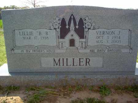 MILLER, VERNON J - Cross County, Arkansas | VERNON J MILLER - Arkansas Gravestone Photos