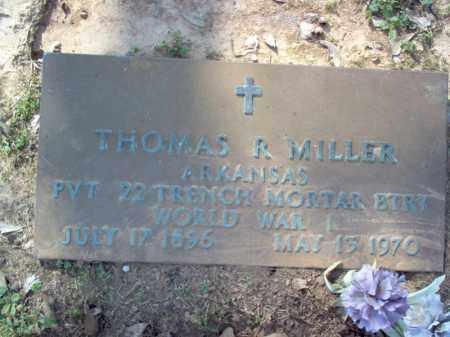 MILLER (VETERAN WWI), THOMAS R - Cross County, Arkansas | THOMAS R MILLER (VETERAN WWI) - Arkansas Gravestone Photos