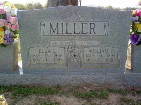 MILLER, ELLA E - Cross County, Arkansas | ELLA E MILLER - Arkansas Gravestone Photos