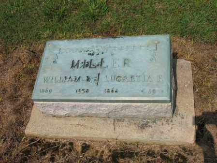 MILLER, WILLIAM B - Cross County, Arkansas | WILLIAM B MILLER - Arkansas Gravestone Photos