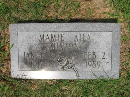 MINTON, MAMIE AILA - Cross County, Arkansas | MAMIE AILA MINTON - Arkansas Gravestone Photos