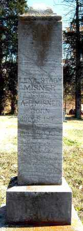 STACY MISNER, LENA - Cross County, Arkansas | LENA STACY MISNER - Arkansas Gravestone Photos
