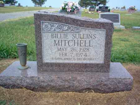 SULLINS MITCHELL, BILLIE - Cross County, Arkansas | BILLIE SULLINS MITCHELL - Arkansas Gravestone Photos