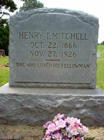 MITCHELL, HENRY T - Cross County, Arkansas | HENRY T MITCHELL - Arkansas Gravestone Photos