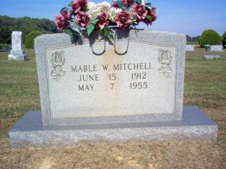 MITCHELL, MABLE W - Cross County, Arkansas | MABLE W MITCHELL - Arkansas Gravestone Photos