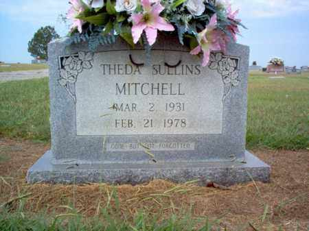 SULLINS MITCHELL, THEDA - Cross County, Arkansas | THEDA SULLINS MITCHELL - Arkansas Gravestone Photos