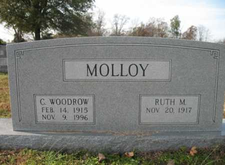 MOLLOY, CHARLES WOODROW - Cross County, Arkansas | CHARLES WOODROW MOLLOY - Arkansas Gravestone Photos