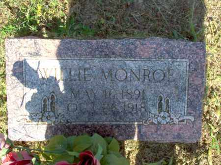 MONROE, WILLIE - Cross County, Arkansas | WILLIE MONROE - Arkansas Gravestone Photos
