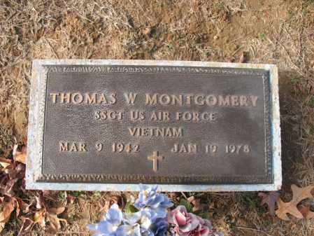 MONTGOMERY (VETERAN VIET), THOMAS W - Cross County, Arkansas | THOMAS W MONTGOMERY (VETERAN VIET) - Arkansas Gravestone Photos