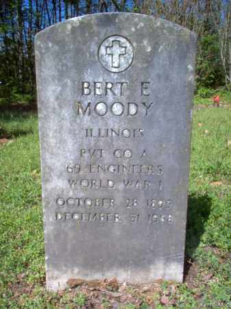 MOODY (VETERAN WWI), BERT E - Cross County, Arkansas | BERT E MOODY (VETERAN WWI) - Arkansas Gravestone Photos