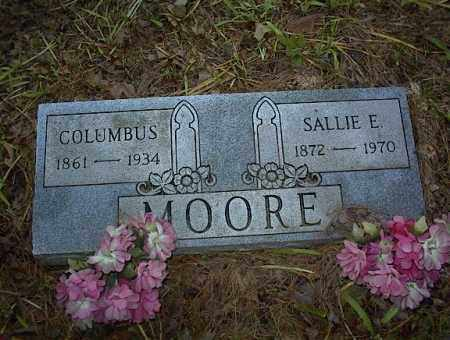 MOORE, SALLIE E - Cross County, Arkansas | SALLIE E MOORE - Arkansas Gravestone Photos