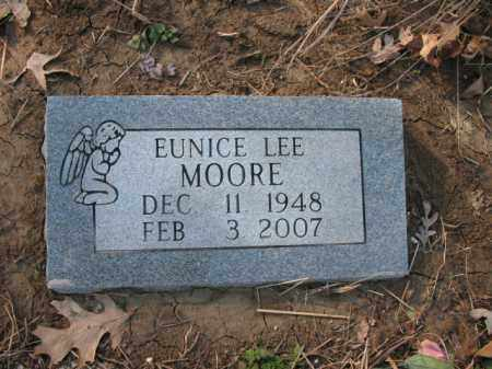 MOORE, EUNICE LEE - Cross County, Arkansas | EUNICE LEE MOORE - Arkansas Gravestone Photos