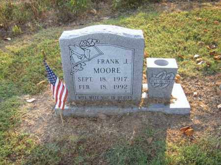 MOORE, FRANK J - Cross County, Arkansas | FRANK J MOORE - Arkansas Gravestone Photos