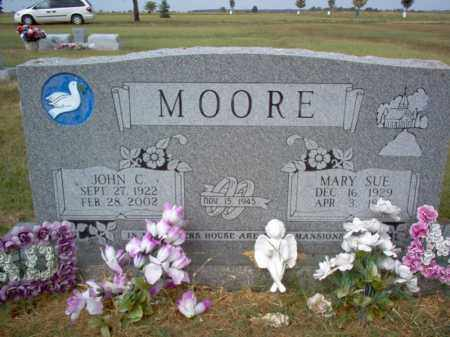 MOORE, MARY SUE - Cross County, Arkansas | MARY SUE MOORE - Arkansas Gravestone Photos