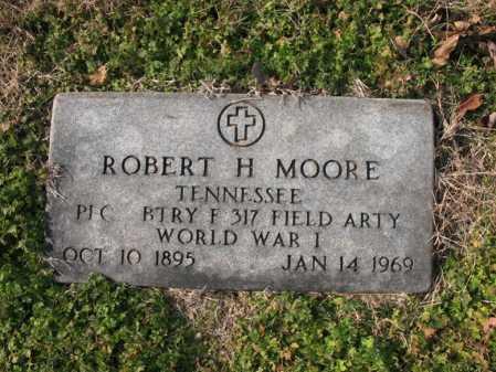 MOORE  (VETERAN WWI), ROBERT H - Cross County, Arkansas | ROBERT H MOORE  (VETERAN WWI) - Arkansas Gravestone Photos