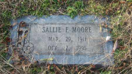 MOORE, SALLIE F - Cross County, Arkansas | SALLIE F MOORE - Arkansas Gravestone Photos