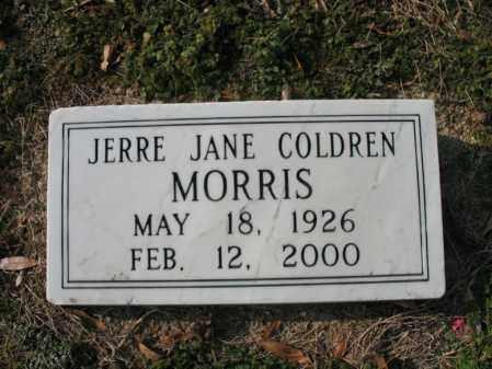 MORRIS, JERRE JANE - Cross County, Arkansas | JERRE JANE MORRIS - Arkansas Gravestone Photos