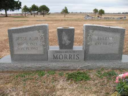 MORRIS, JR., JESSE A - Cross County, Arkansas | JESSE A MORRIS, JR. - Arkansas Gravestone Photos