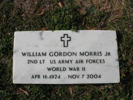 MORRIS, JR (VETERAN WWII), WILLIAM GORDON - Cross County, Arkansas | WILLIAM GORDON MORRIS, JR (VETERAN WWII) - Arkansas Gravestone Photos