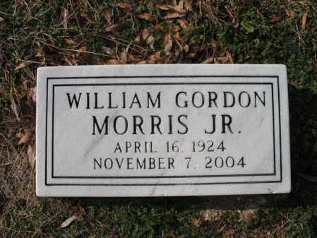 MORRIS, JR., WILLIAM GORDON - Cross County, Arkansas | WILLIAM GORDON MORRIS, JR. - Arkansas Gravestone Photos