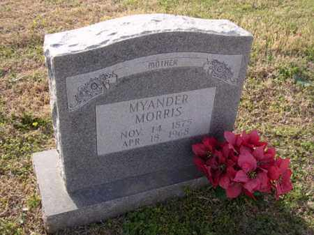 MORRIS, MYANDER - Cross County, Arkansas | MYANDER MORRIS - Arkansas Gravestone Photos