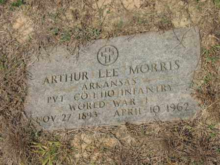MORRIS (VETERAN WWI), ARTHUR LEE - Cross County, Arkansas | ARTHUR LEE MORRIS (VETERAN WWI) - Arkansas Gravestone Photos