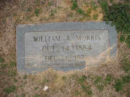 MORRIS, WILLIAM A - Cross County, Arkansas | WILLIAM A MORRIS - Arkansas Gravestone Photos