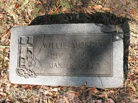 MORRIS, WILLIE - Cross County, Arkansas | WILLIE MORRIS - Arkansas Gravestone Photos
