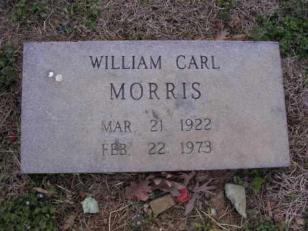 MORRIS (VETERAN WWII), WILLIAM CARL - Cross County, Arkansas | WILLIAM CARL MORRIS (VETERAN WWII) - Arkansas Gravestone Photos