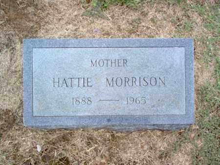 MORRISON, HATTIE - Cross County, Arkansas | HATTIE MORRISON - Arkansas Gravestone Photos