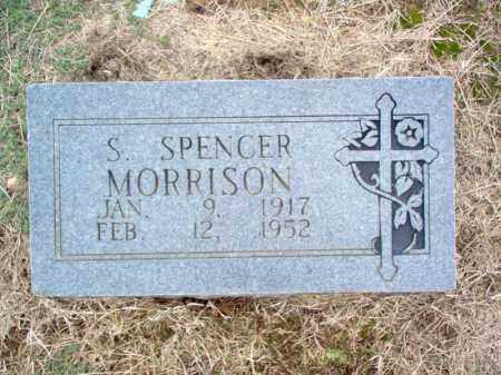 MORRISON, S SPENCER - Cross County, Arkansas | S SPENCER MORRISON - Arkansas Gravestone Photos