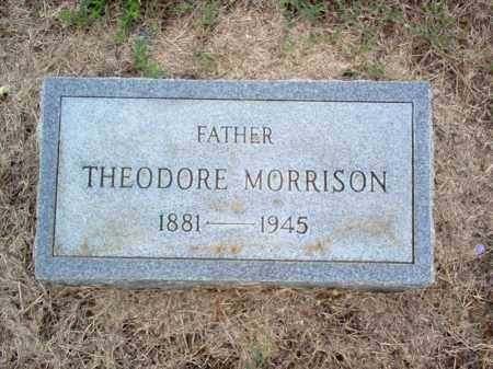 MORRISON, THEODORE - Cross County, Arkansas | THEODORE MORRISON - Arkansas Gravestone Photos
