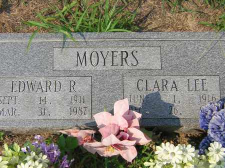 MOYERS, CLARA LEE - Cross County, Arkansas | CLARA LEE MOYERS - Arkansas Gravestone Photos