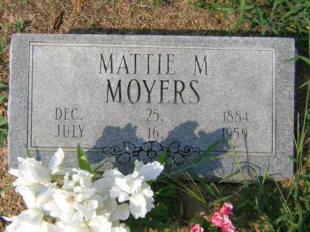 WADE MOYERS, MATTIE MARTHA - Cross County, Arkansas | MATTIE MARTHA WADE MOYERS - Arkansas Gravestone Photos