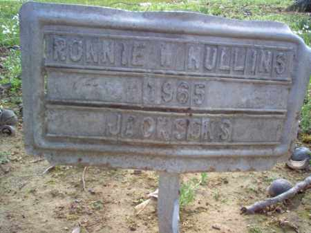MULLINS, RONNIE W - Cross County, Arkansas | RONNIE W MULLINS - Arkansas Gravestone Photos
