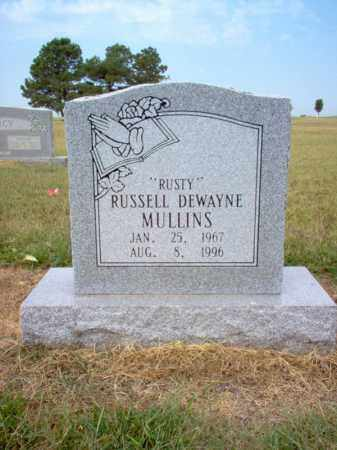"MULLINS, RUSSELL DEWAYNE ""RUSTY"" - Cross County, Arkansas 