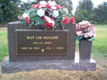 MULLINS (VETERAN), ROY LEE - Cross County, Arkansas | ROY LEE MULLINS (VETERAN) - Arkansas Gravestone Photos